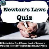 Newton's Laws Quiz
