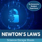 Newton's Laws Science Escape Room