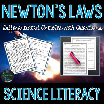 Newton's Laws - Science Literacy Article