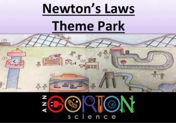 Newton's Laws Theme Park- Physics