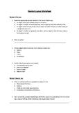 Newton's Laws Worksheet