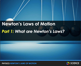 PPT - Newton's Laws of Motion + Student Notes - Distance Learning