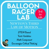 Newton's Laws of Motion Balloon Racer
