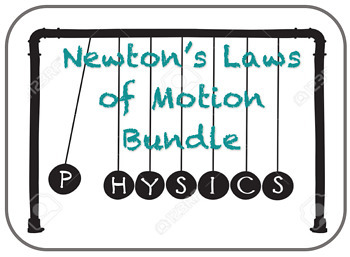 Newton's Laws of Motion Bundle