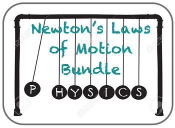 Newton's Laws of Motion Bundle
