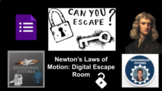Newton's Laws of Motion: Digital Escape Room
