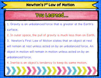 Newton's Laws of Motion Nonfiction Reading Activity for Google Classroom
