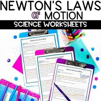 Newton's Laws of Motion Nonfiction Article and Activity