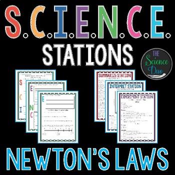 Newton's Laws of Motion - S.C.I.E.N.C.E. Stations