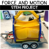 Newton's Laws of Motion STEM Inquiry Project Based Assessment