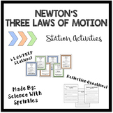 Newton's Laws of Motion Stations