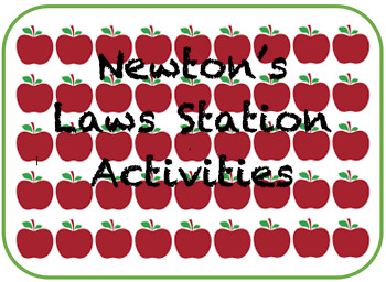 Newton's Laws of Motion Stations Activity