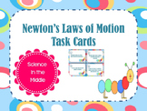 Newton's Laws of Motion Task Cards