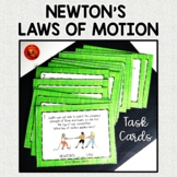 Newton's Laws of Motion Task Cards w/Answer Keys - Which L