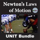 Newton's Laws of Motion Unit Bundle MS-PS3-1, MS-PS2-2
