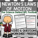 Newton's Laws of Motion Worksheet [PRINT & DIGITAL FOR DISTANCE LEARNING]