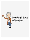 Newton's Laws of Motion interactive notes