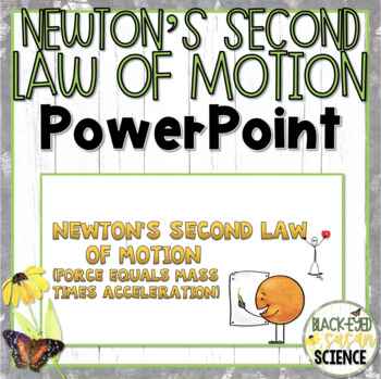 Newton's Second Law of Motion Doodle Notes-Power Point