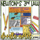 Newton's Third Law of Motion Squiggle Sheets & Understanding Checkpoint (quiz)