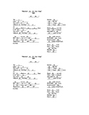 Newton's Third Law of Motion Song Printable Double Quiz