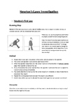 Newton's Three Laws Practical Booklet