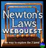 Newton's Three Laws of Motion Webquest