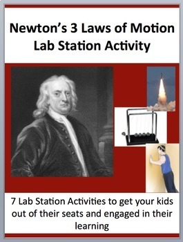 Newton's Three Laws of Motion - 7 Engaging and Unique Lab