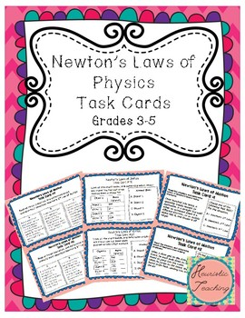 Science Task Cards- Force (Newton's Laws)
