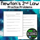 Newton's 2nd Law Problems