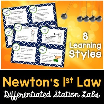 Newton's Laws - 1st Law - The Law of Inertia - Kesler Scie