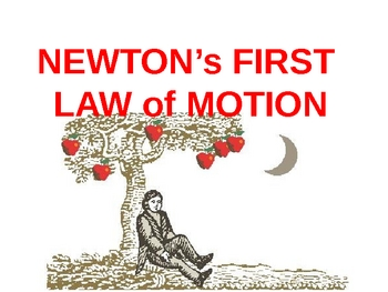 Newton's First Law of Motion Power Point presentation