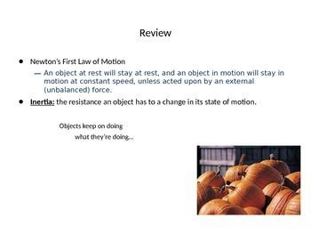 Newton's Law Powerpoint