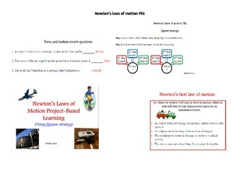 Newton's Law of Motion PBL: Using Jigsaw Strategy