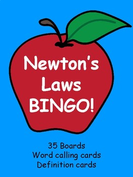 Newton's Laws BINGO!