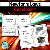 Newton's Laws Card Sort
