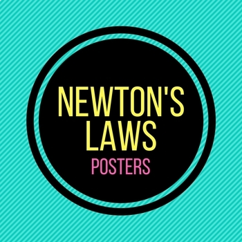 Newton's Laws Posters
