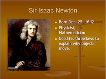 Newton's Laws PowerPoint