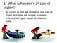 Newton's Laws PowerPoint Presentation