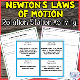 Newton's Laws of Motion Review Activity