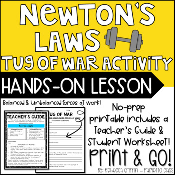 Newton's Laws: Tug of War Activity