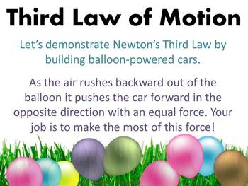 Newton's Laws (With Balloon Racers!)