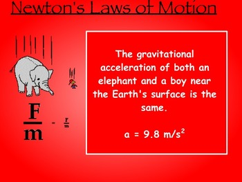 Newton's Laws and Motion