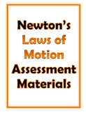 Newton's Laws assessment materials