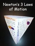 Newton's Laws of Motion Pyramid, Info Sheet, Lab, and Equa