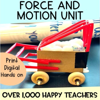Newton's Laws of Motion Demonstrations, Posters, STEM, and Activity Unit