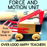 Newton's Laws of Motion NGSS STEM and Activity Unit