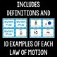 Newton's Laws of Motion Card Sort