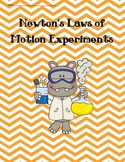 Newton's Laws of Motion Experiments