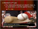Newton's Laws of Motion Lesson