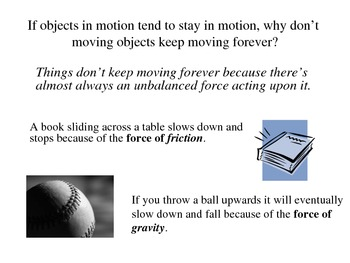 Newtons Laws of Motion Physical Science/Physics Power Point